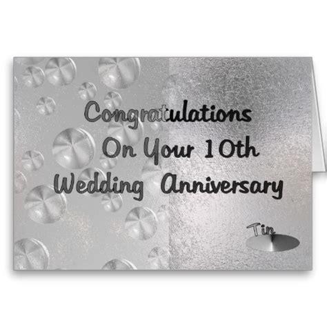 10th Anniversary Tenth Wedding Anniversary