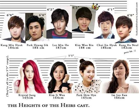 film korea the heirs heights of the heirs cast korean drama kpop