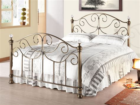 King Size Brass Bed Frame Time Living King Size Brass Bed Frame With Finials
