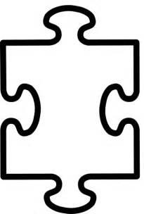 Autism Puzzle Template by Printable Autism Puzzle Clipart Best