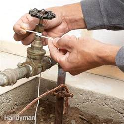 Fix Faucet Leak How To Repack A Stem Seal On A Street Valve The Family
