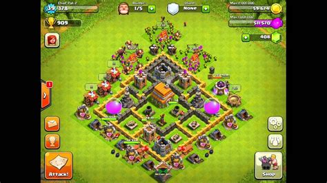 clash of clans layout strategy level 6 base layouts ice empire