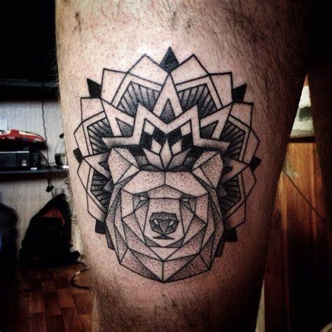 mandala tattoo offensive bear and mandala stuff pinterest mandala tattoo and