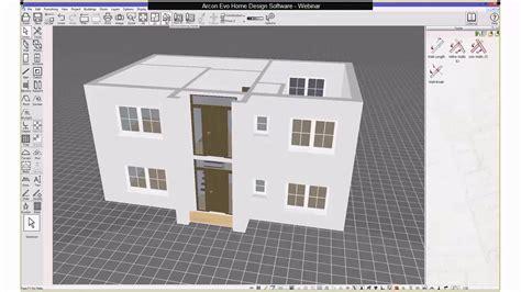 home design software demo arcon evo home design software demo youtube