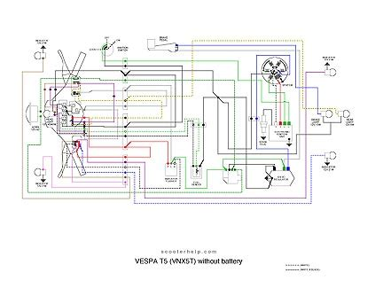 vespa t5 wiring diagram free wiring diagrams