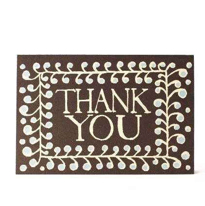 pattern of thank you card card thank you pattern cambridge imprint