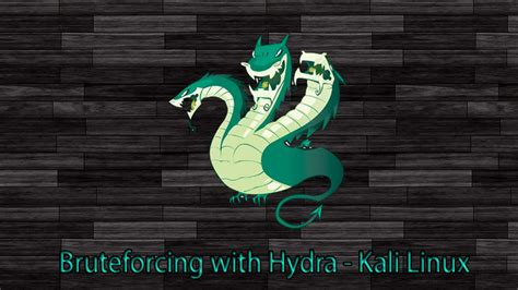 tutorial hydra linux bruteforcing with hydra kali linux doovi