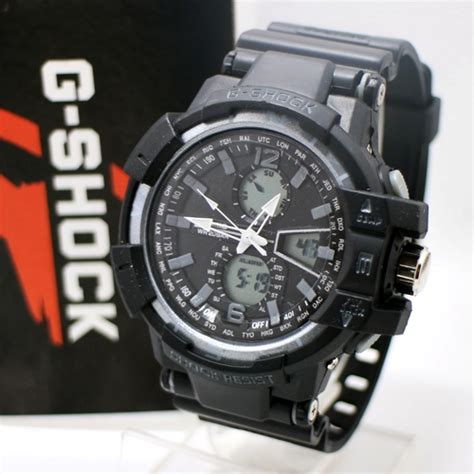 G Shock Gwa 1100 Black List White jam tangan g shock gwa 1100 new model black grey
