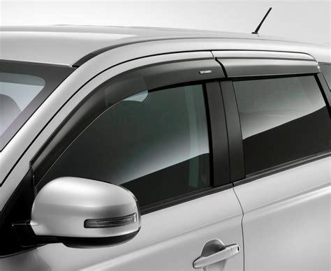 ebay mitsubishi parts side window deflector kit outlander 2014 2016 genuine