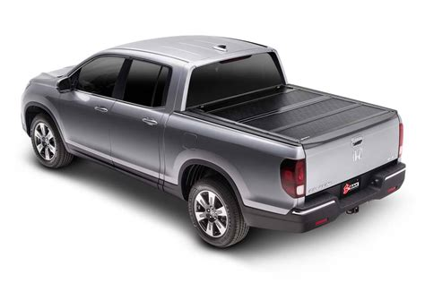 honda ridgeline bed cover 2017 2018 honda ridgeline hard folding tonneau cover