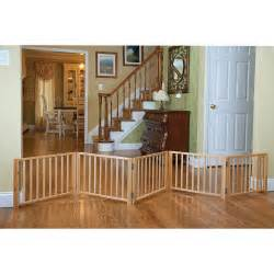 doggie gate free standing wood pet gate petsolutions