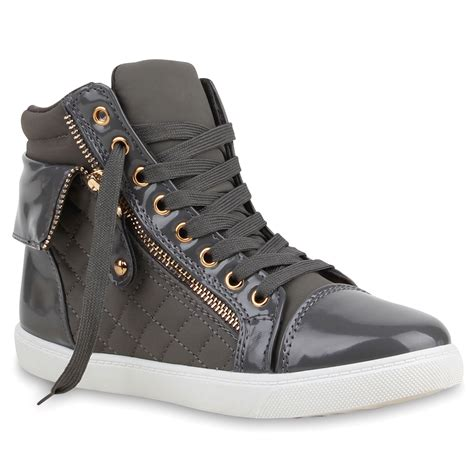 zipper sneakers damen high top sneakers strass zipper sportschuhe 99642 trendy