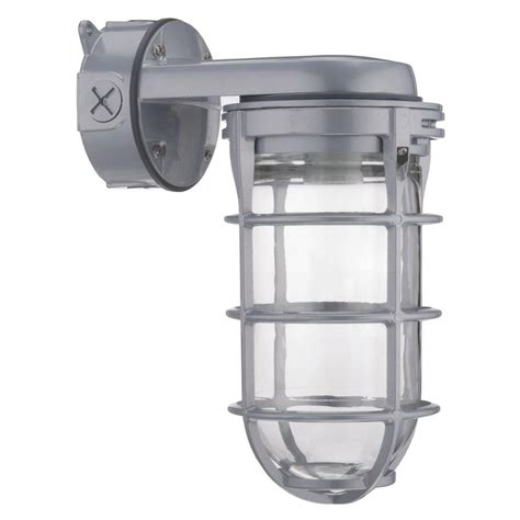 Utility Light Fixture Lithonia Lighting 42w Compact Fluorescent Utility Vapor Tight Wall Mount Fixture Vw42l M6 The