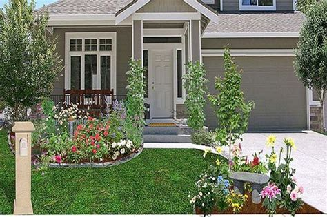 inexpensive front yard landscaping ideas easy frontyard cheap landscaping ideas home interior