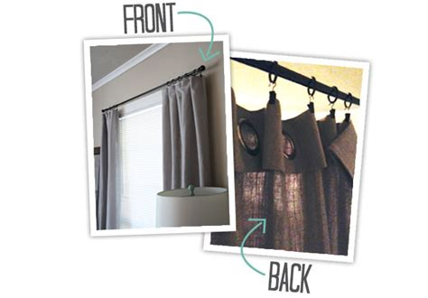 how to extend curtain rod length extending store bought curtains the blissful bee