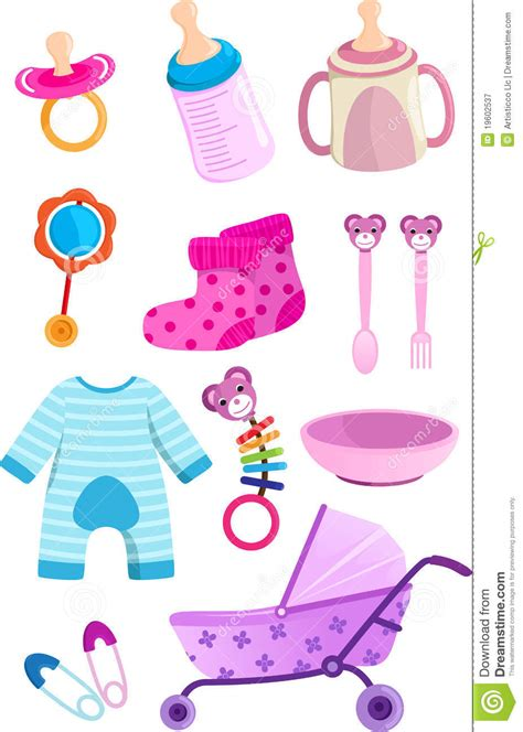 Shops That Sell Baby Shower Stuff by Baby Items Stock Vector Illustration Of Pacifier Clothes