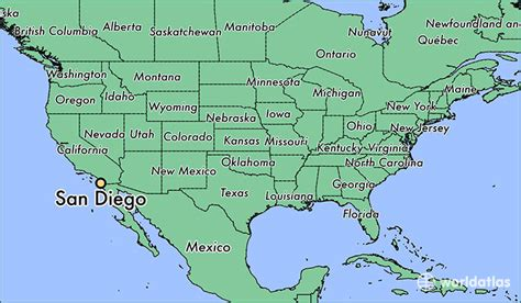 san diego on map of usa where is san diego ca san diego california map