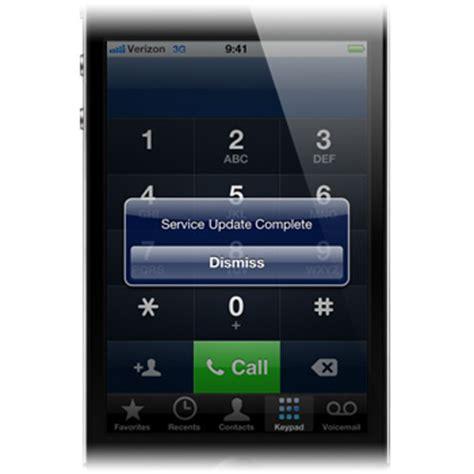 how to update verizon roaming verizon update preferred roaming list