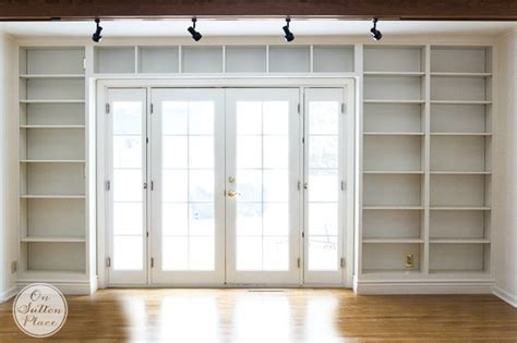 Built In Door by Built In Bookshelves On Sutton Place