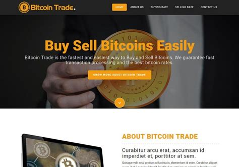 17 Best Bitcoin Cryptocurrency Website Templates Themes Templateflip Cryptocurrency Html Template Free