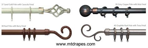 wrought iron curtain rods porto wrought iron curtain rods