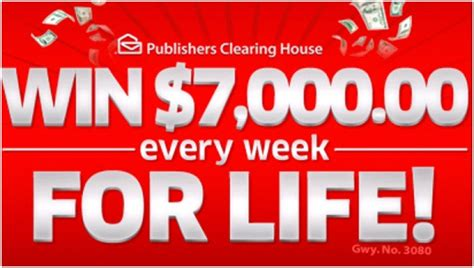 Pch 10000 A Week - wow 7 000 every week for life is a lot of money pch blog