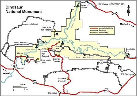 colorado national monument map dinosaur national monument karte dinosaur national