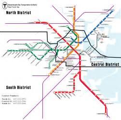 Mbta Map Red Line by Mbta Clinic