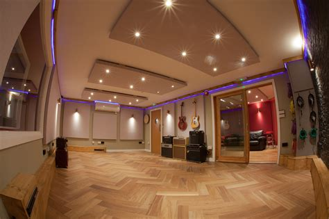 live room rooms at silk mill recording studio neve ssl