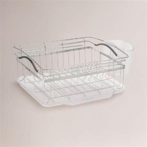 Expandable Dish Rack by Compact Expandable Dish Rack World Market