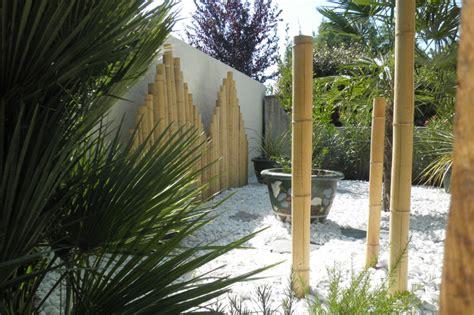 Deco Bambou Jardin by D 233 Co Jardin Bambou