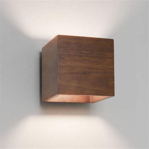 Home Interiors Mirrors Astro 0399 Cremona 1 Light Wall Light Walnut