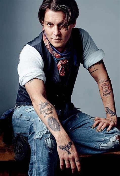 johnny depp tattoos johnny depp