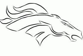 denver broncos coloring pages related keywords denver