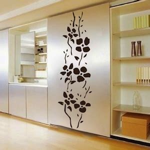 trendy wall designs trendy tall flowers