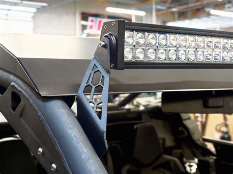 rigid light bar mounts utv inc can am maverick x3 40 quot rigid led light bar mounts