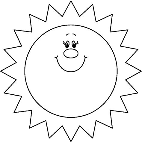 sunshine coloring pages clipart of sun black and white clipart best