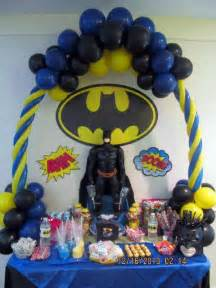 Maternity Photography Nyc Batman Dark Knight Mini Candy Table Table Arch Superheros Nyc Balloon Squad Decoraciones