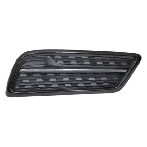 replacement fog light cover k metal 174 acura mdx without fog lights 2015 front
