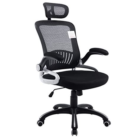 Patio Swings Mesh High Back Extra Padded Grey Swivel Office Chair With