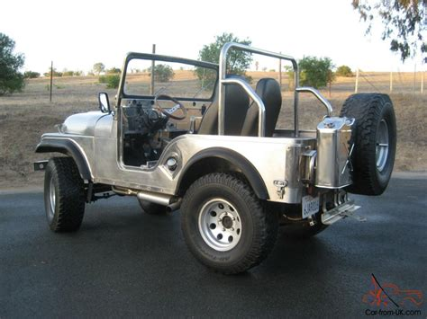 jeep body for 1970 jeep cj5 handmade stainless steel body