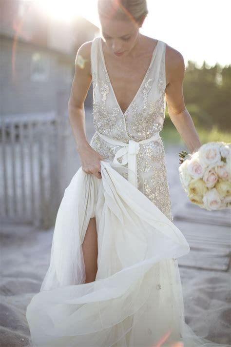 D Aisle Wedding Gowns by 10 Sequins Wedding Gowns For Your Second Walk The Aisle