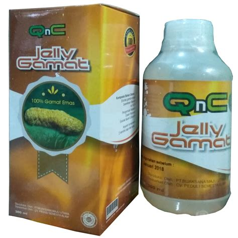 qnc jelly gamat original 100 300ml elevenia