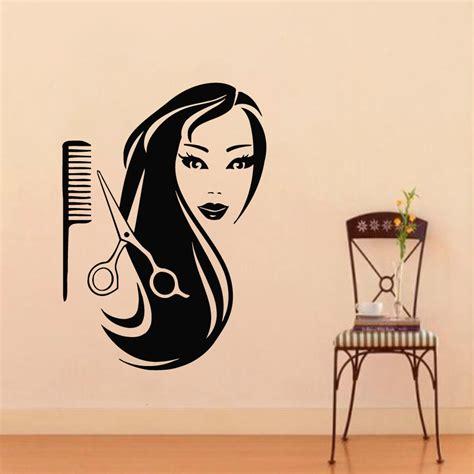 Wall Sticker Arsenal 3 barbershop 3d poster wall decal salon hairdressing vinyl ᗕ wall wall sticker