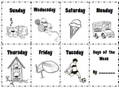 libro 7300 days free days of the week worksheets for first grade 107 free months days of the week