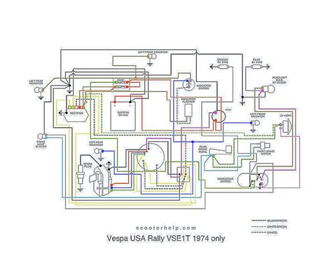 wiring diagram for 1974 vespa rally 200 wiring get free