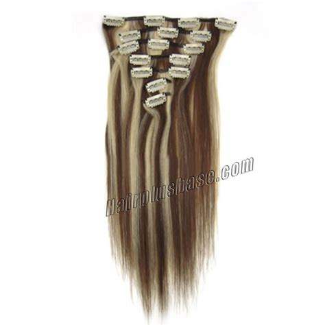 24 in human hair extensions 24 inch 4 613 clip in human hair extensions 8pcs