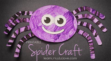 spider craft printable spider craft