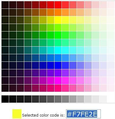 html table background color color background code html