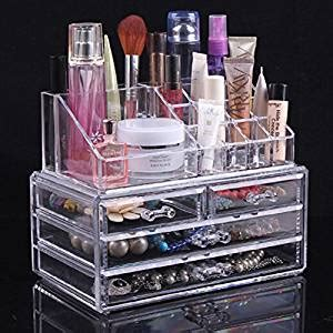 Organizer Kotak Organizer Make Up Organizer Kotak Kosmetik topsalon acrylic cosmetic organizer 4 drawers drawer makeup storage holder box